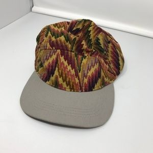Faded Royalty Knit Hat Aztec Print Adjustable